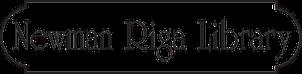 Newman Riga Library white company logo